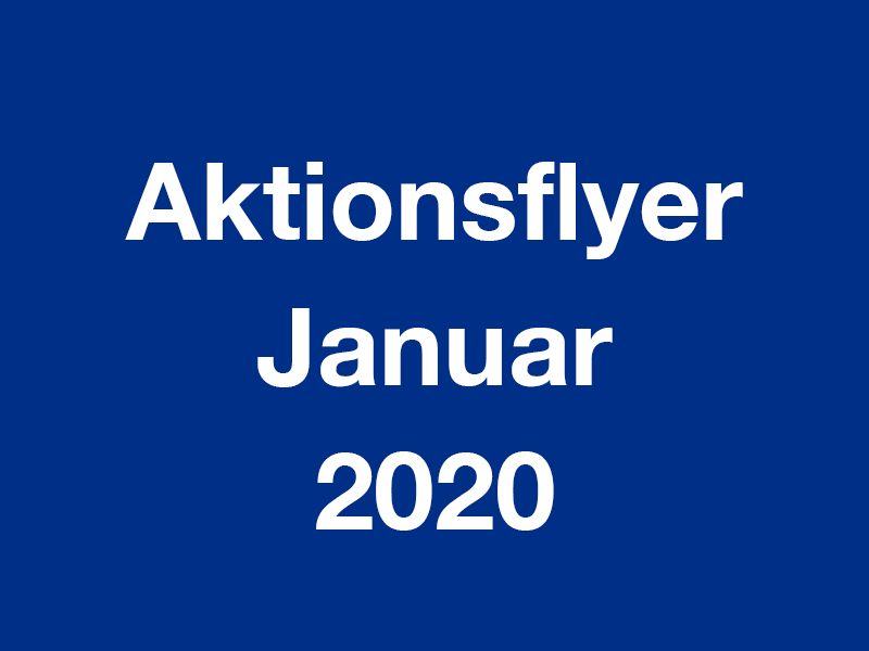 Aktionsflyer Januar 2020