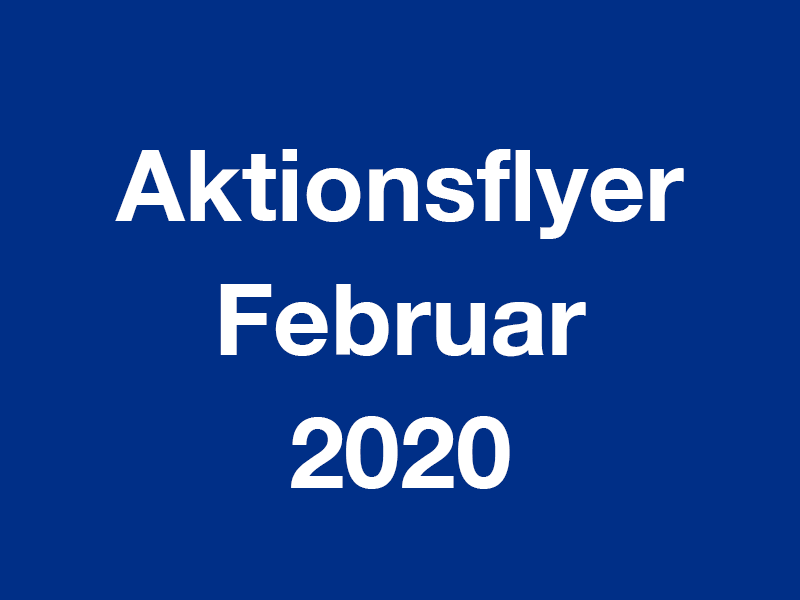 Aktionsflyer Februar 2020